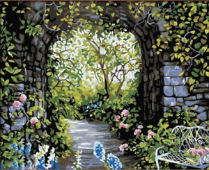 20+ Framed + Unframed Scenery Paintings - Paint by Numbers