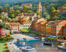 Load image into Gallery viewer, Paint this beautiful Town Painting Yourself