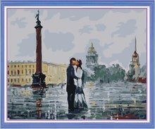 Load image into Gallery viewer, couple kissing paint by numbers
