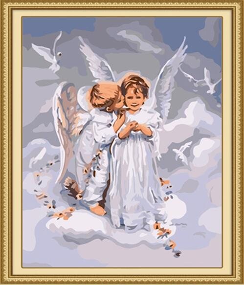 Little Angels Paint by Numbers