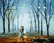 Load image into Gallery viewer, A Long Walk in the Rainy Weather in Autumn - Romantic Gift