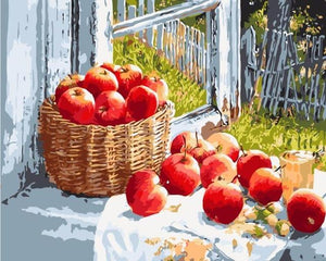apples paint by numbers