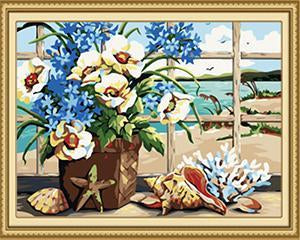 24 Flowers, Landscape Paintings (Framed and Unframed)