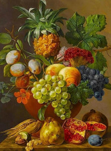 fruits paint by numbers