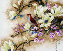 Load image into Gallery viewer, bird paint by numbers