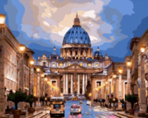 Castorland St. Peter's Basilica - Paint by Number Kit