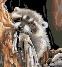 Load image into Gallery viewer, Honey Badger Painting