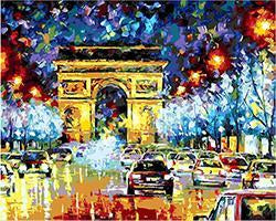 24 Framed Beautiful Colorful Paintings