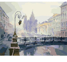 Load image into Gallery viewer, Vintage City Painting