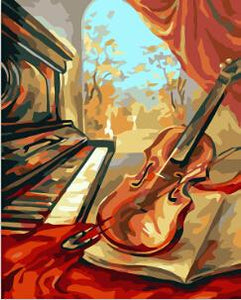 Music Lovers Paint by Numbers