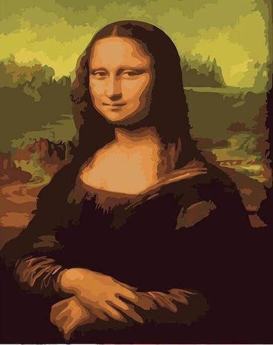 famous paintings paint by numbers