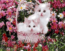 Load image into Gallery viewer, Kittens in a Basket