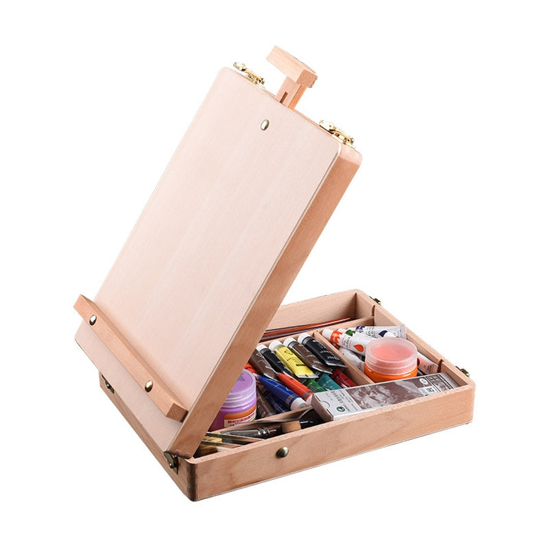 portable art easel with storage