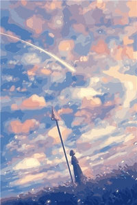 Cloudy Sky Paint By Numbers Kit