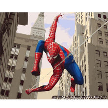 Load image into Gallery viewer, Spider Man Super Hero Paint-by-numbers Kit