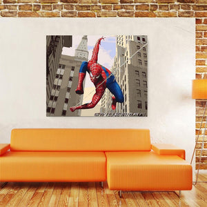 Spider Man Super Hero Paint-by-numbers Kit