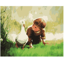 Load image into Gallery viewer, A Baby & A Duck