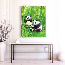 Load image into Gallery viewer, A Panda Family