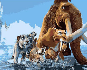 Ice Age Animated Characters
