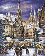 Load image into Gallery viewer, New York Christmas Painting