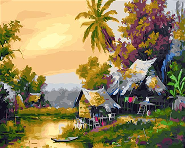 A Village Painting