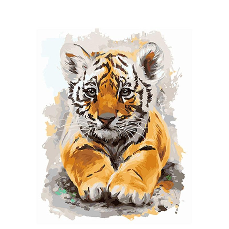 Colorful Animal Paint by Number Kits