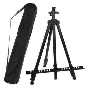 Black Metallic Easel for Paint by Numbers