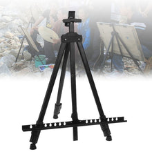 Load image into Gallery viewer, Black Metallic Easel for Paint by Numbers