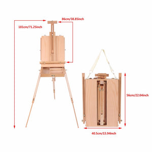 Portable Large Easel with Storage