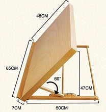 Load image into Gallery viewer, Wooden Tabletop Art Easel [SHIPS FROM USA]
