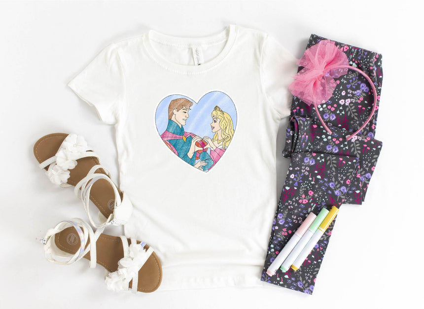 Sleeping Princess & Prince Sublimation Transfer - LizKSupplyCo