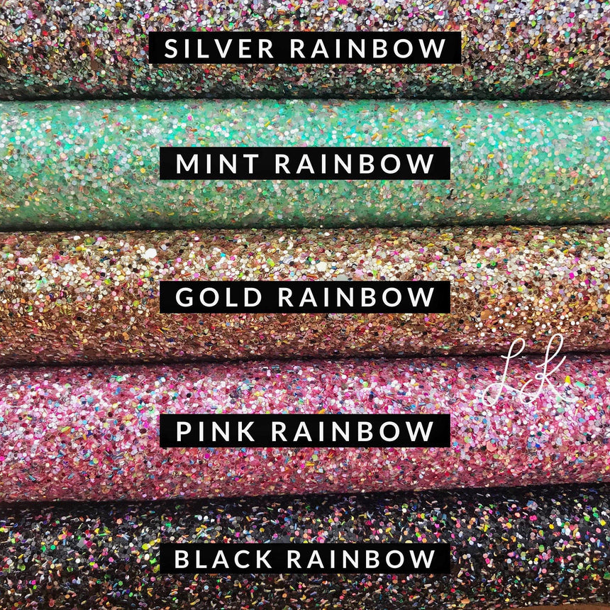 Rainbow Glitter Collection - LizKSupplyCo