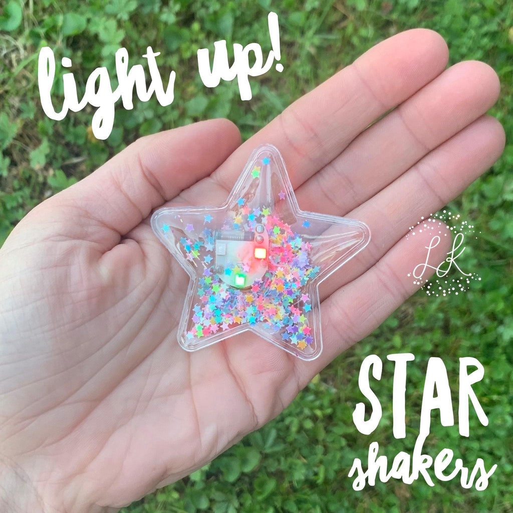 Light Up Star Shakers