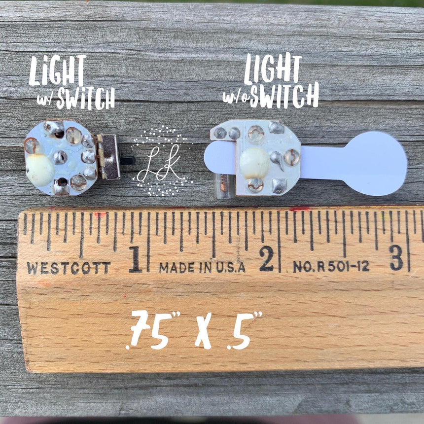 Light With Switch - LizKSupplyCo