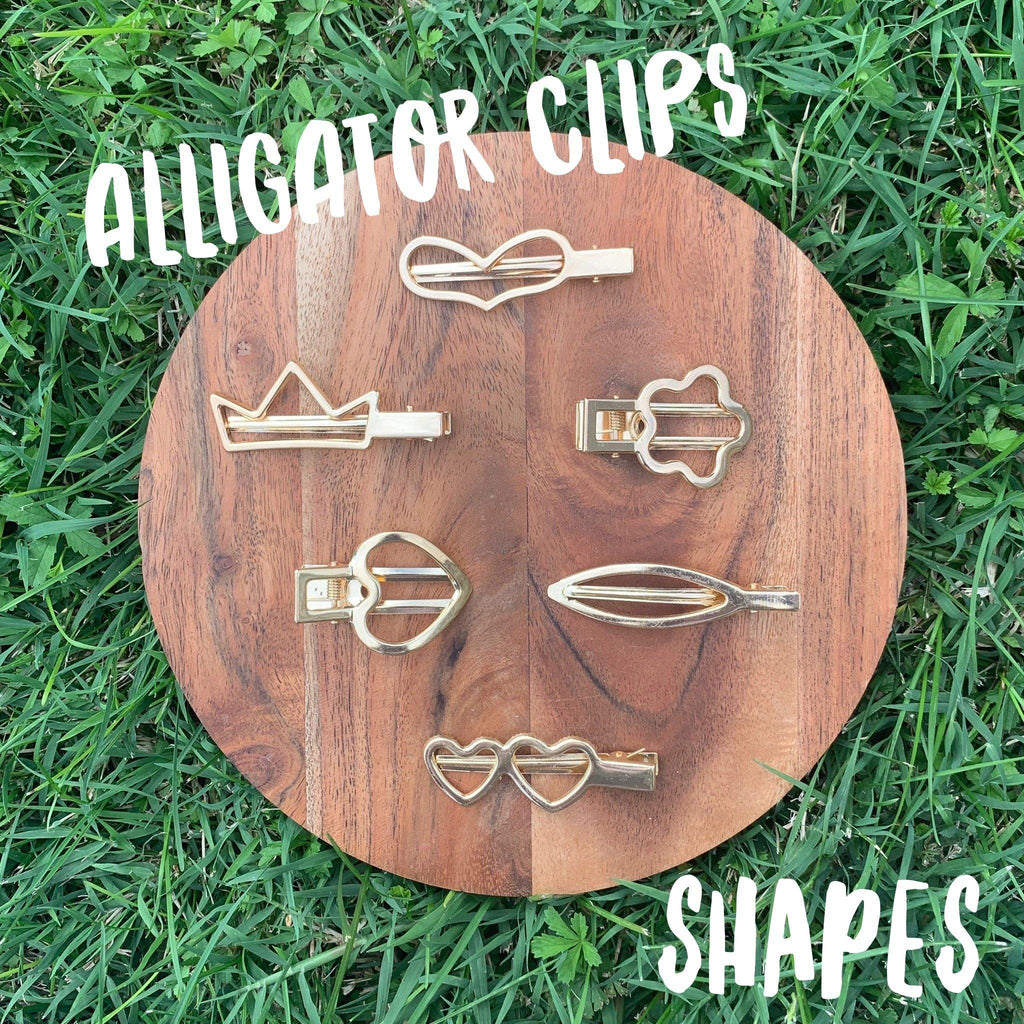 Alligator Clips Shapes