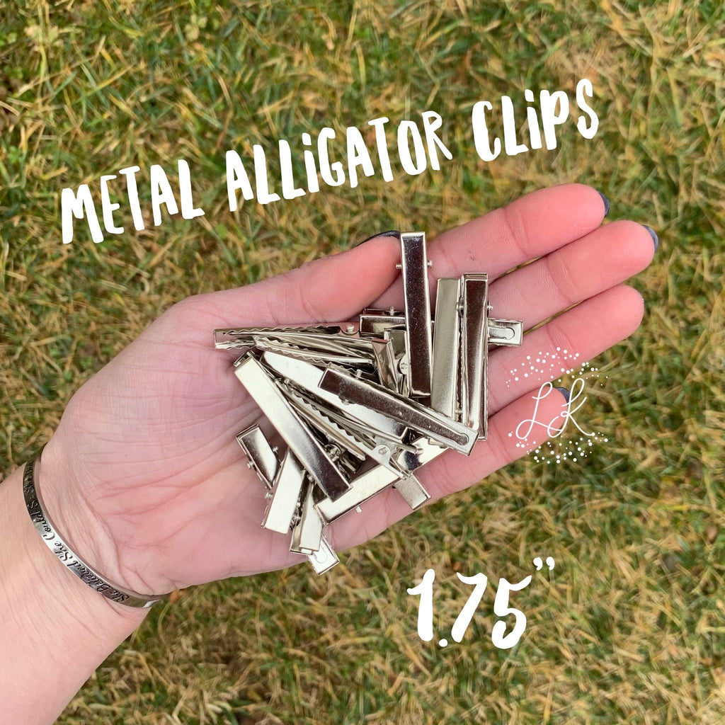 Metal Alligator Clips