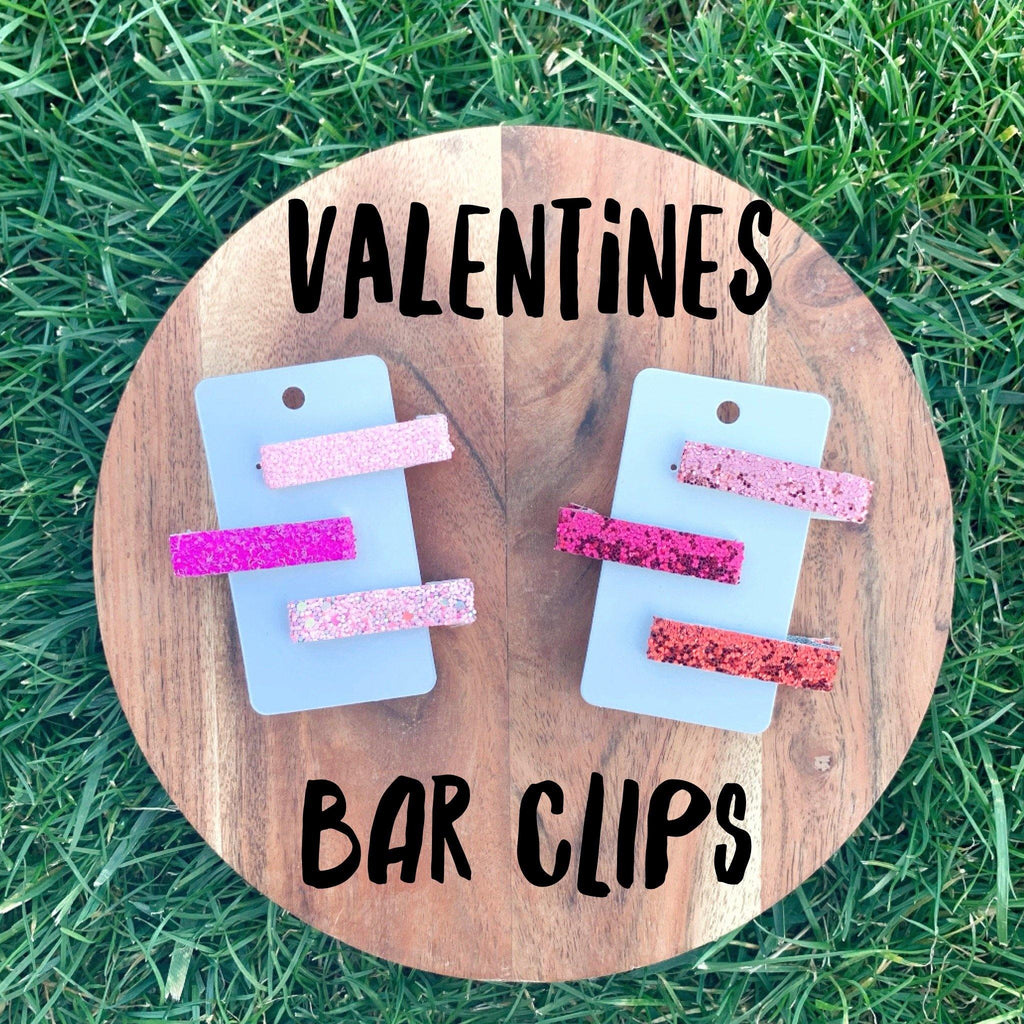 Valentine's Bar Clips