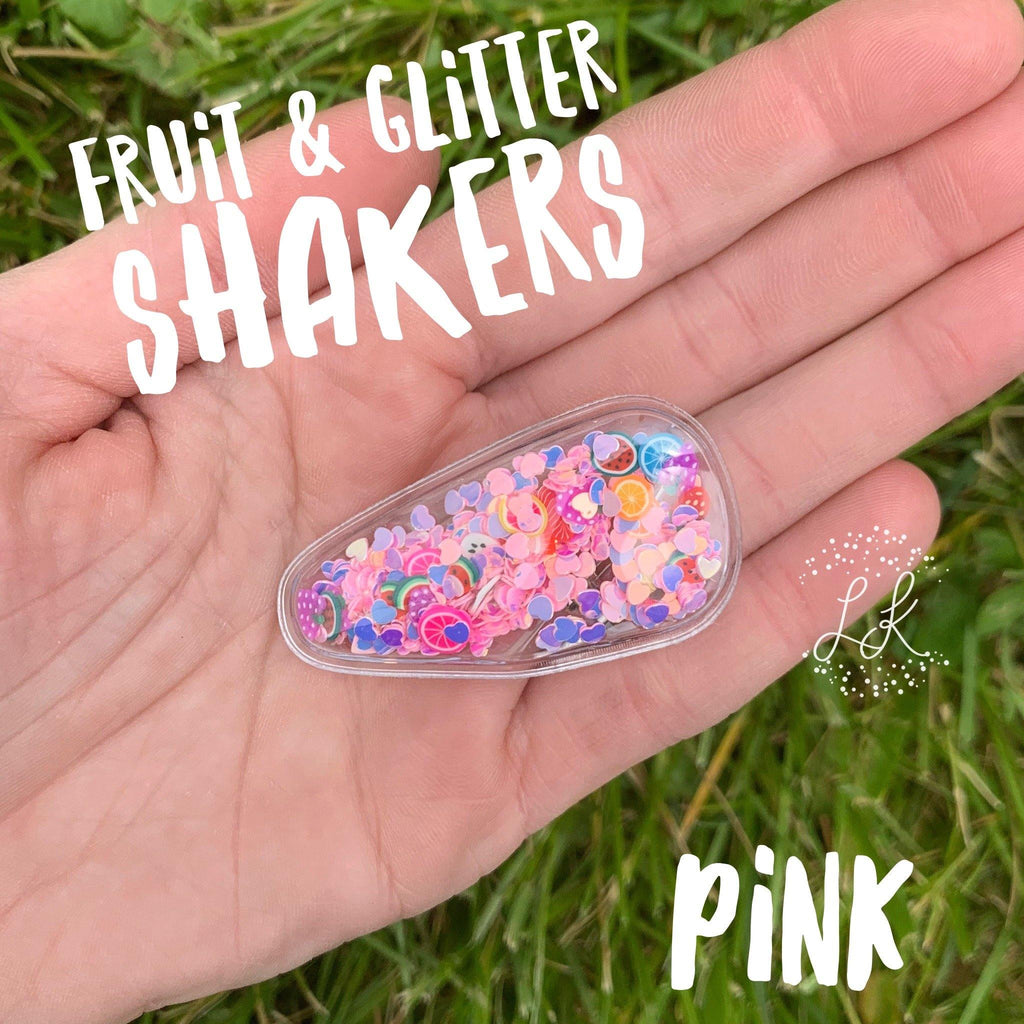 Fruit & Glitter Shakers