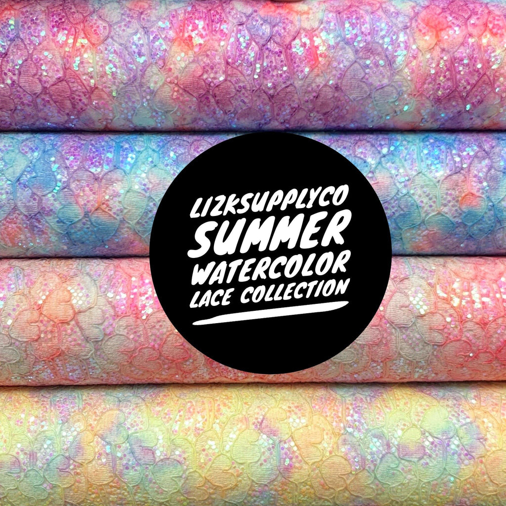 Summer Watercolor Lace Collection