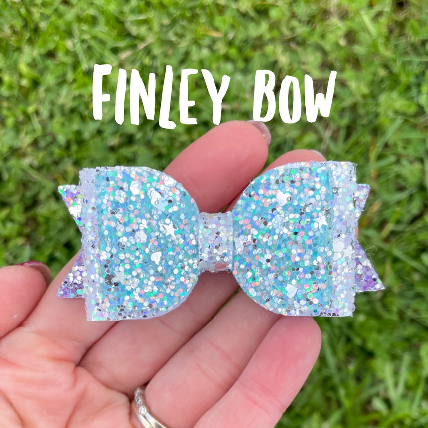 Finley Bow- SVG File for Cricut