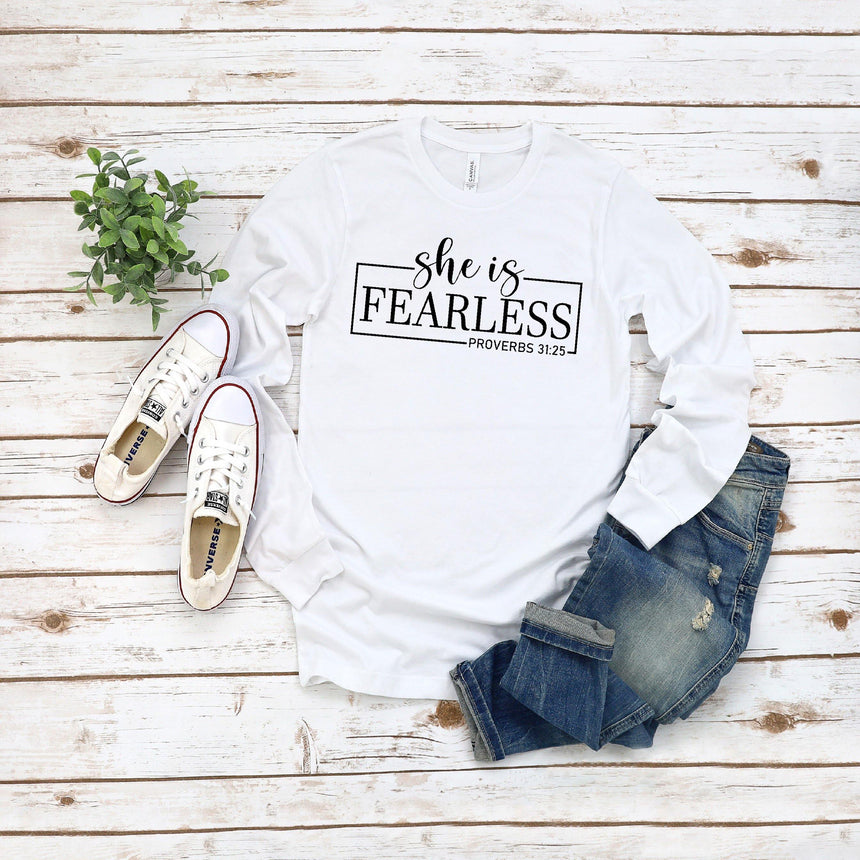She is Fearless Sublimation Transfer - LizKSupplyCo