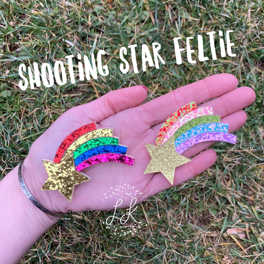 Shooting Star Felties
