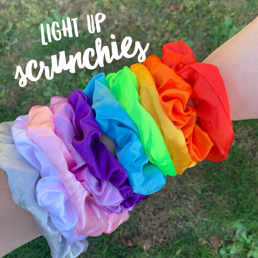 Light Up Scrunchies - LizKSupplyCo