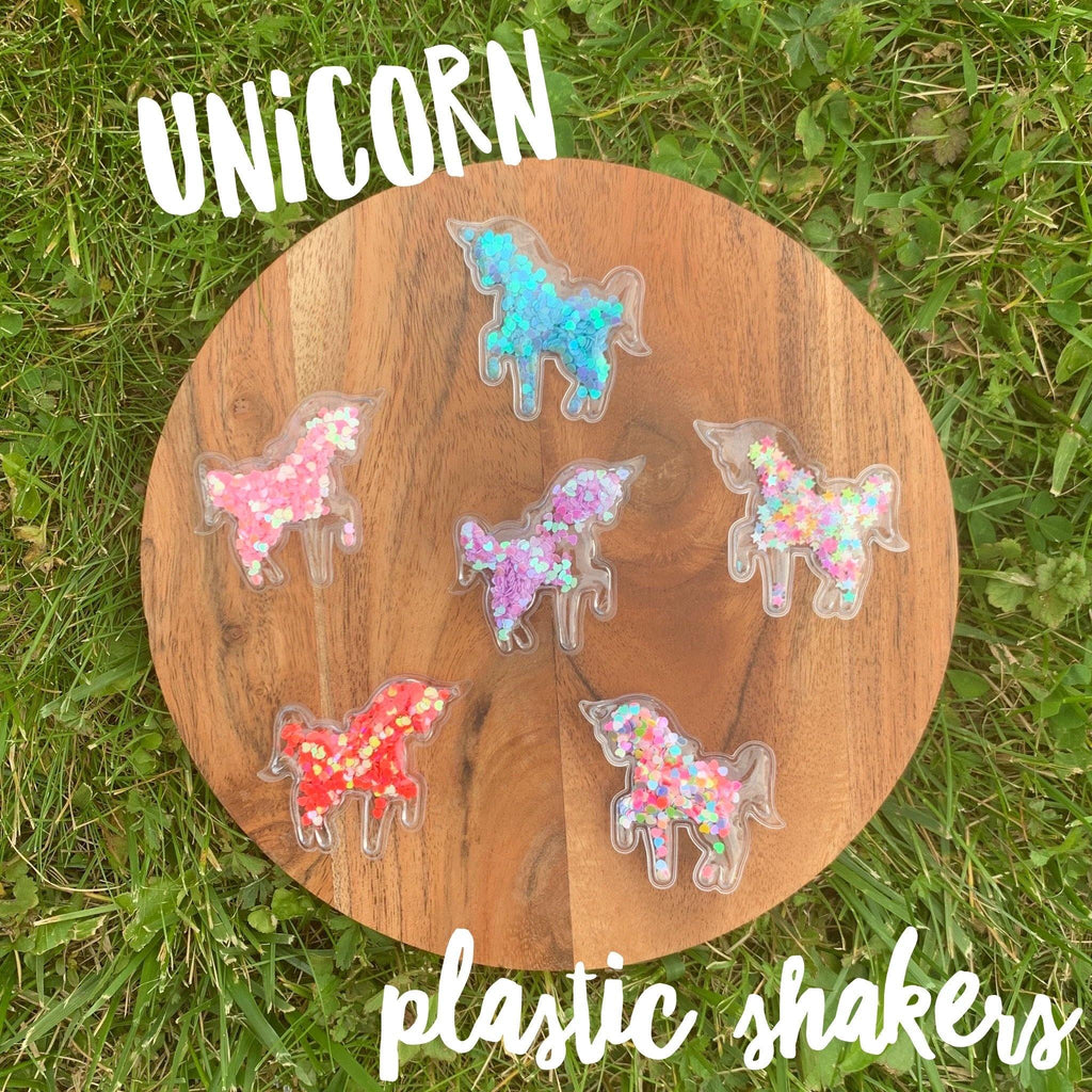 Unicorn Glitter Shakers