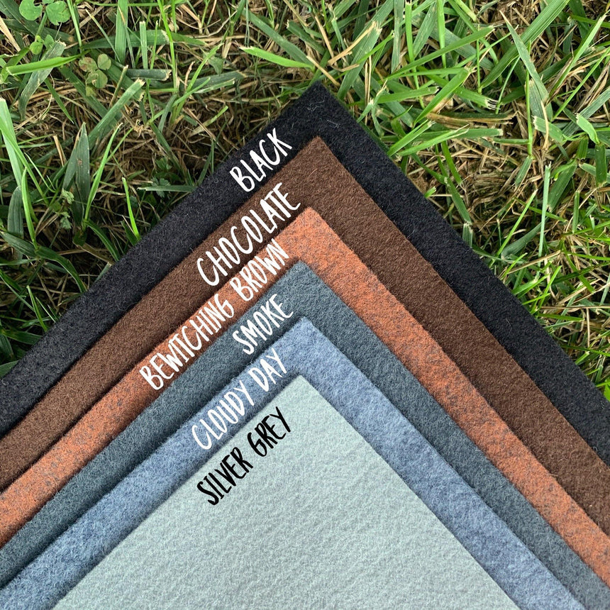 Wool Blend Felt Collection - LizKSupplyCo