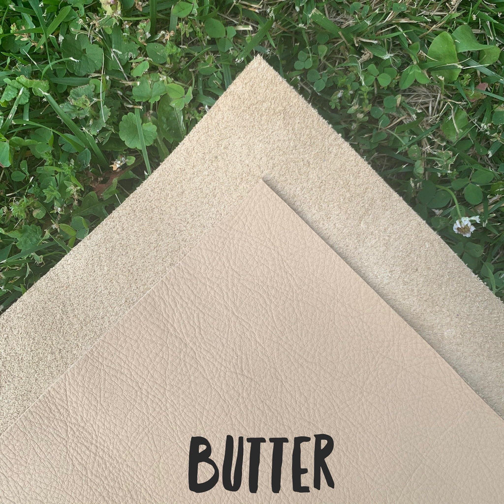 Genuine Leather- Butter