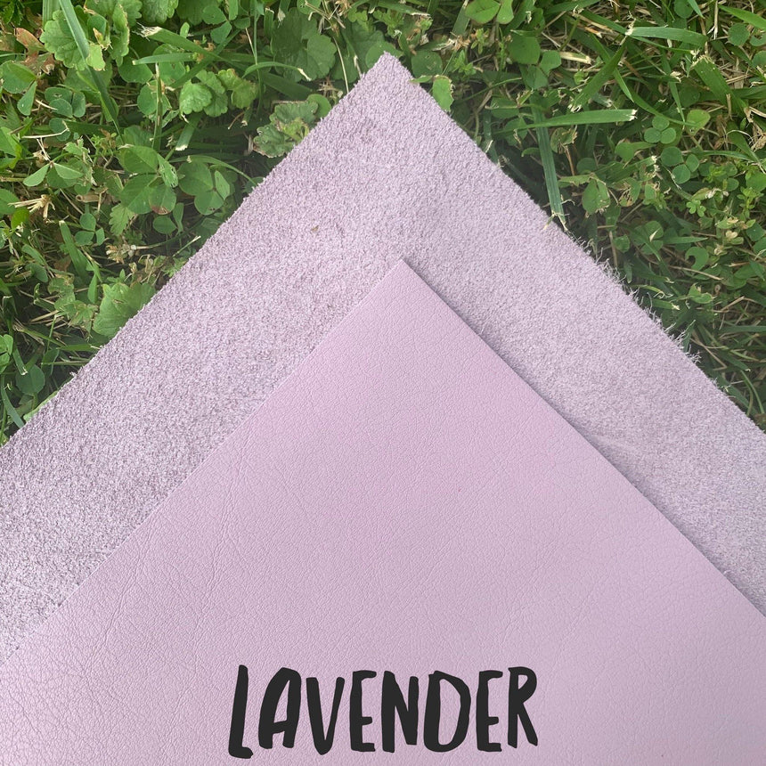 Genuine Leather - Lavender - LizKSupplyCo