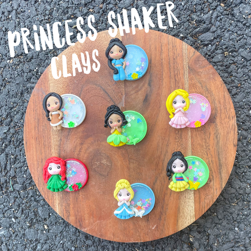 Full Princess Shaker Clays - LizKSupplyCo
