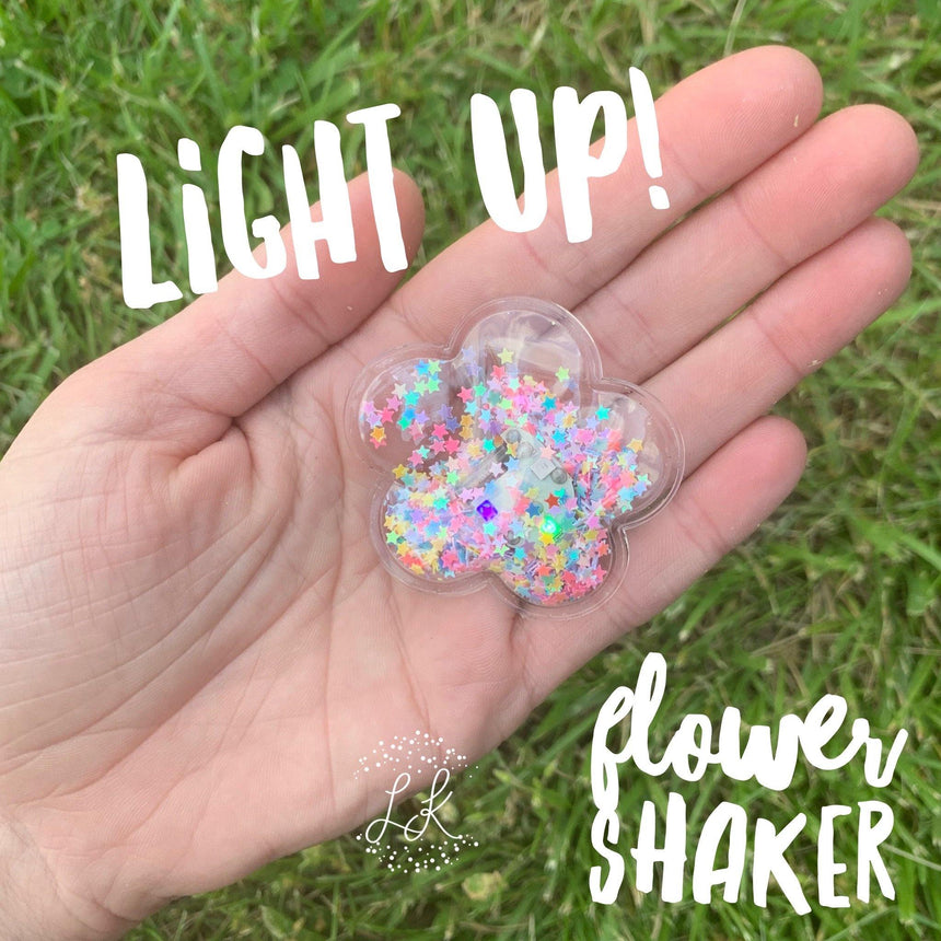 Light Up Flower Shakers - LizKSupplyCo