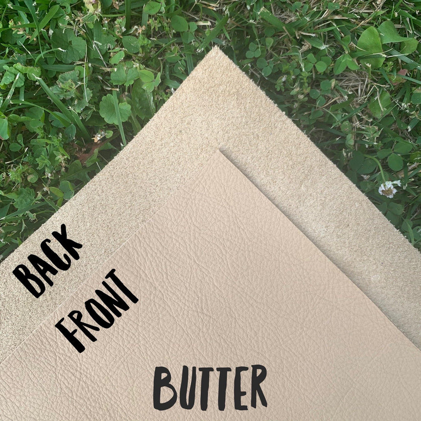 Genuine Leather - Butter - LizKSupplyCo